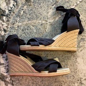 NWT LOFT Espadrille Sandals, Size 7